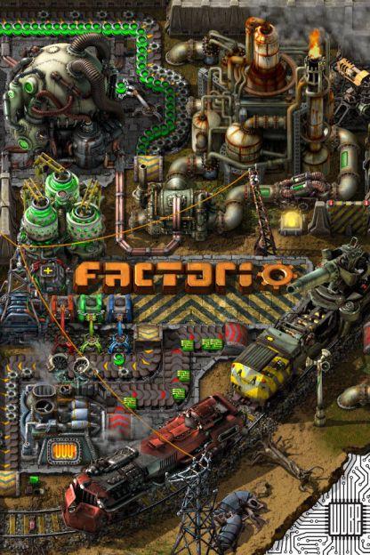 Factorio - Linux Cover
