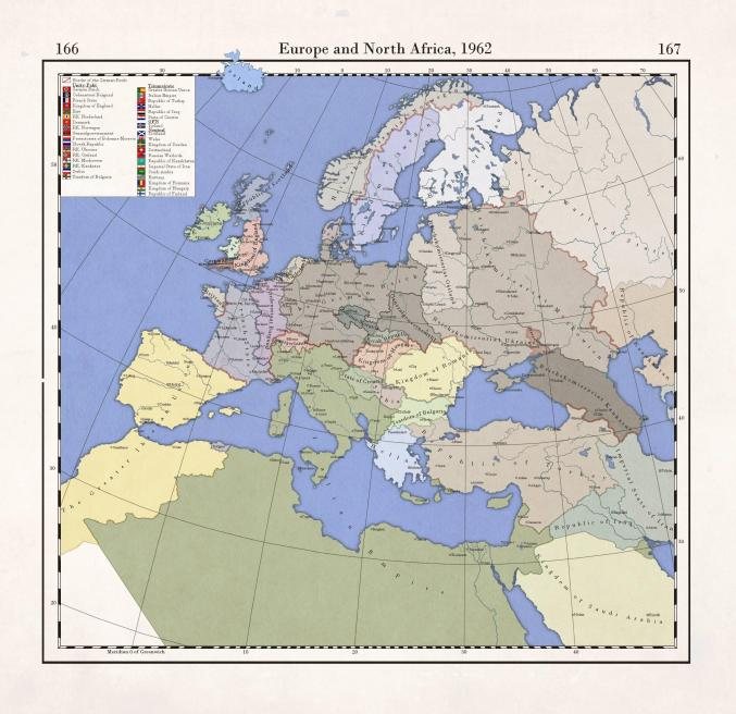 The New Order Last Days of Europe - Europe 1962 Map by et37